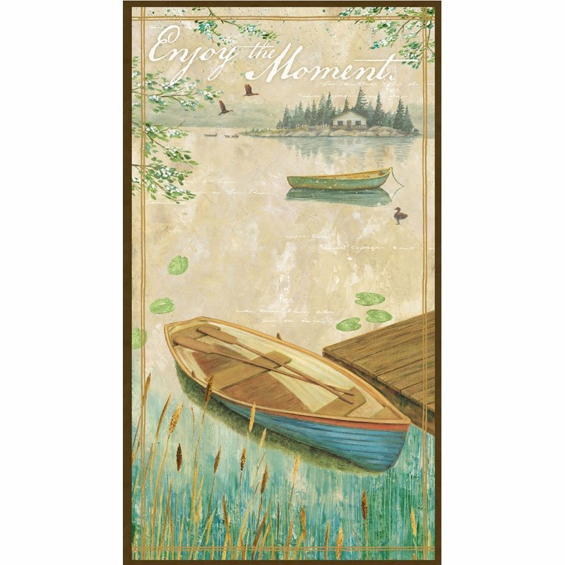 Wilmingon Prints Lakeside Retreat   Panel 44072 214