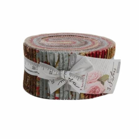 Moda Rosewood Jelly Roll 44180JR