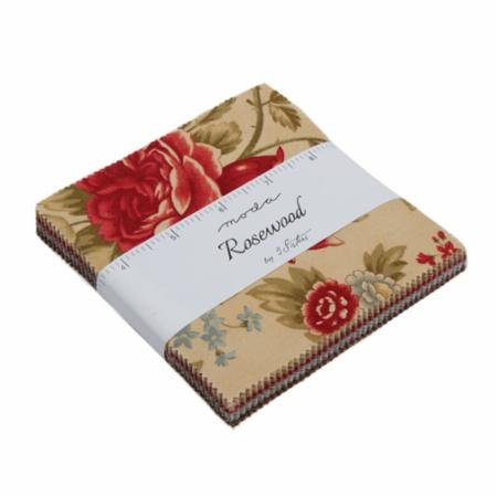 Moda Rosewood Charm Pack 44180PP