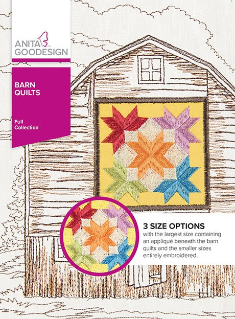 Anita Goodesign Barn Quilts 445AGHD