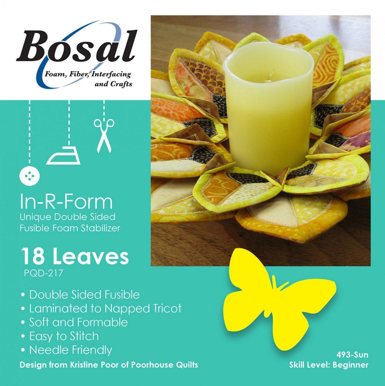 Bosal Sunflower Petals Wreath Kit 493B-SUN