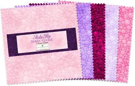 "24 5/"" Fabric Squares Wilmington Print 5 Karat Mini-Gems Amethyst Royale Purple"