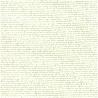 Moda - Daysail Tiny Script Whit Green 55108 29