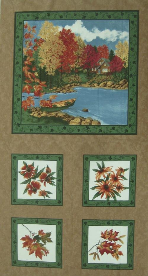 Moda - Maple Island Panel 6610 16  Measures 24 X 44