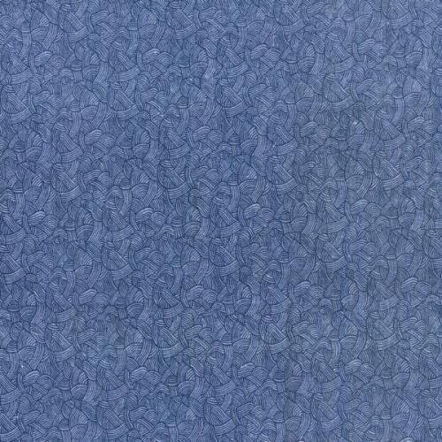 Blank - Flannel 108 Wide Blue