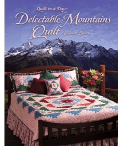 Delectable Mountains Quilt by Quilt in a Day