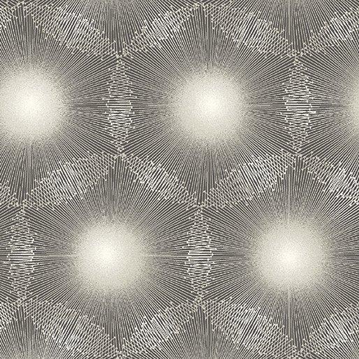 Benartex - Kanvas Natures Pearl  Cream/Gray Burst 8460P 11