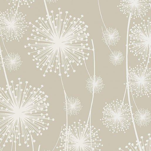 Benartex - Kanvas Natures Pearl Cream Dandelions 8461P 07