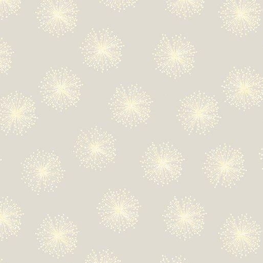 Benartex - Kanvas Natures Pearl Sm Cream Dandelions 8462P 07