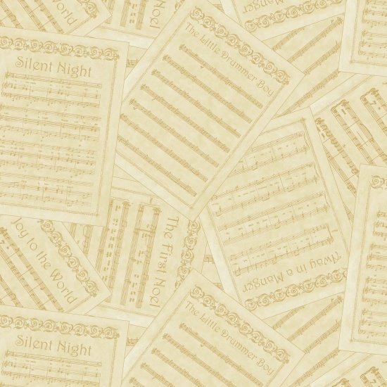 Blank Silent Night 8548 44 Ivory Song Titles