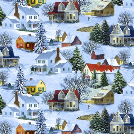 Blank Quilting Let It Snow 9128 11 Homes