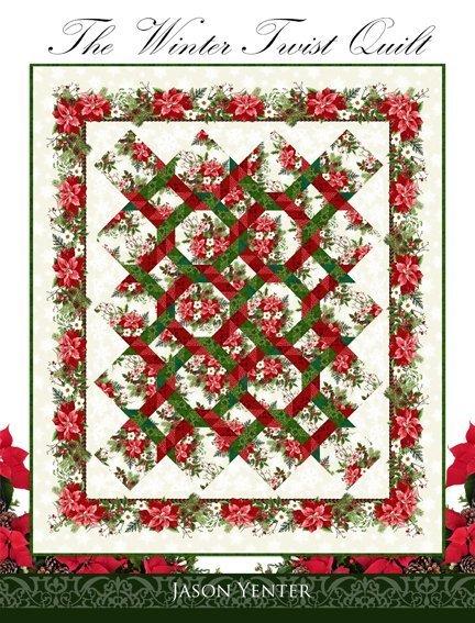 The Winter Twist Quilt by Jason Yenter WT Bk
