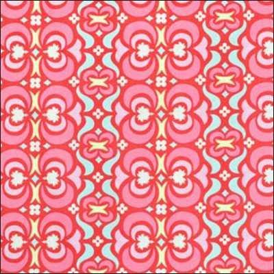 Westminster Amy Butler Midwest Modern 2 - Garden Maze AB23 Red