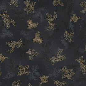 Holiday Flourish 6 AEBM-13638-184 Charcoal