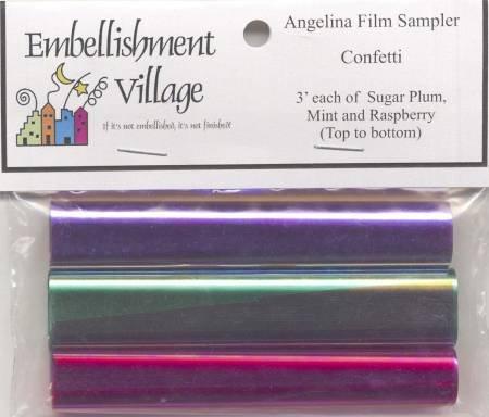 Angelina Film Confetti Sampler AFCONFI