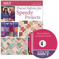 Precut Fabrics for Speedy Projects Book and DVD