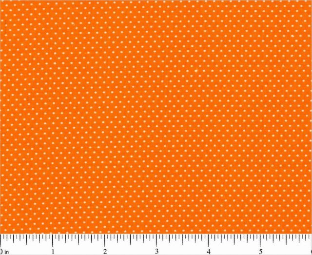 Choice - Mini Dots - Orange with White Dot BD 20707 A27
