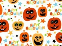 Choice - Halloween Prints BD 47639 001 Pumpkins
