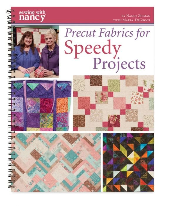Precut Fabrics for Speedy Projects Book only