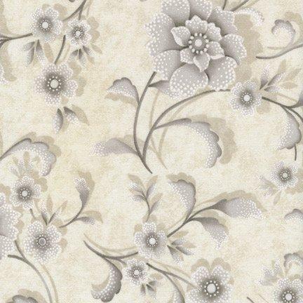 Timeless Treasures  - Chantilly Cream C1802