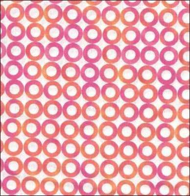 Cara Collection-Crafty Cottons Pin/White Circles