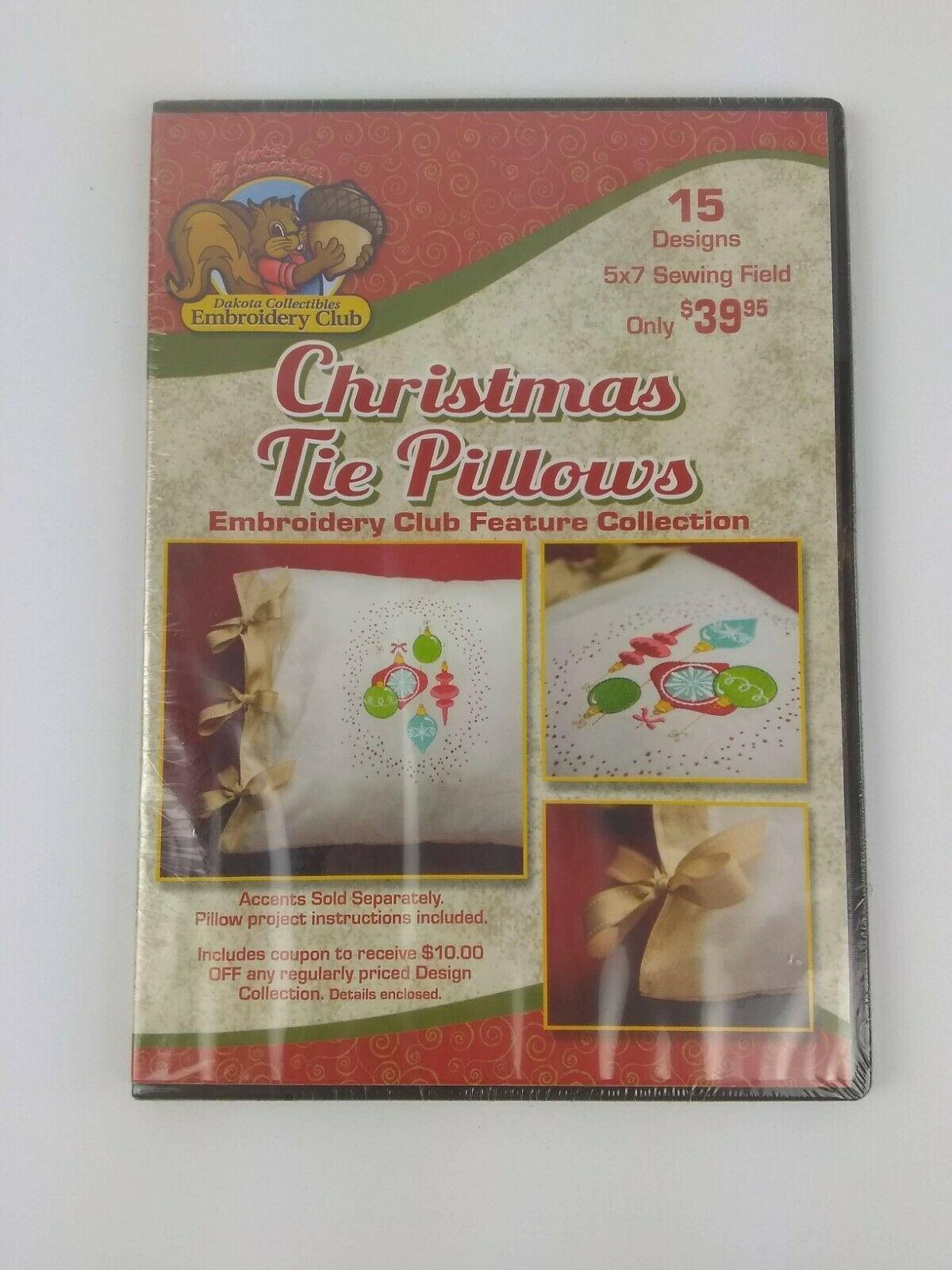 Christmas Tie Pillows