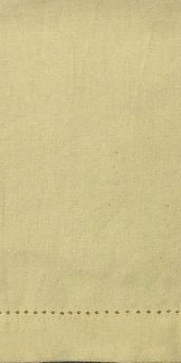 Cream Hemstitch Napkin by Dunroven House