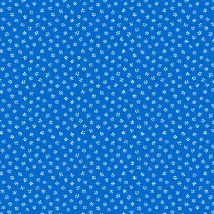Wilmington Prints Amorette Tiny Floral Dk. Blue Q1803 98640 444