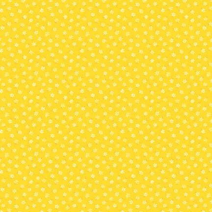 Wilmington Prints Amorette Tiny Floral Yellow Q1803 98640 555