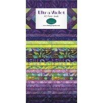 Wilmington Prints  Ultra Violet 40 karat Jewels Strip Pack Q841 33 841