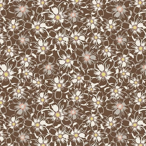 Art Gallery Sweet as Honey Bed of Daisies Nutmeg  SAH 2603