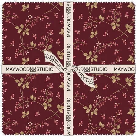 Maywood Studio Burgundy & Blush SQ MASBUB