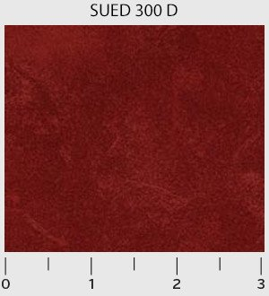 P & B Textiles Suede SUED 00300 D Red
