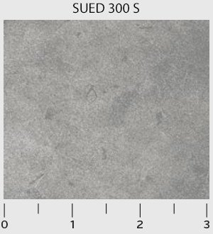 P & B Textiles Suede SUED 00300 S Gray