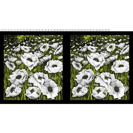 Clothworks Poppy Poetry Y2657 1 Panel