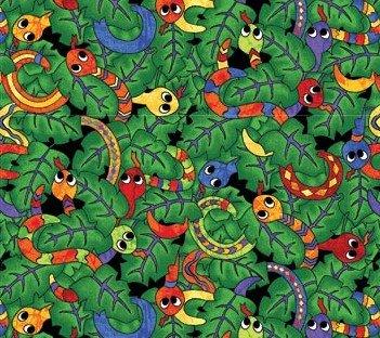 Northcott I Spy In The Amazon 20903 72 Green