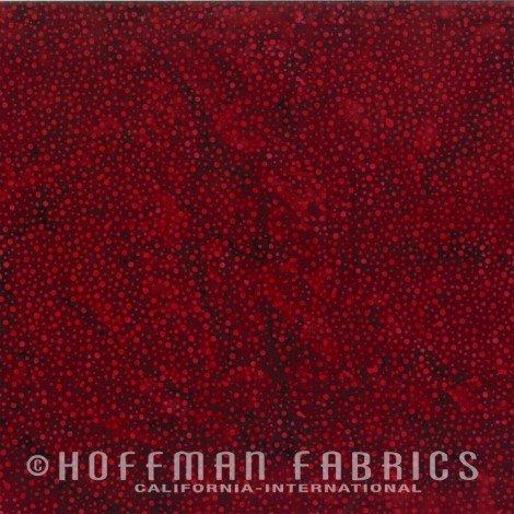 Hoffman Batik Red Velvet 885-568