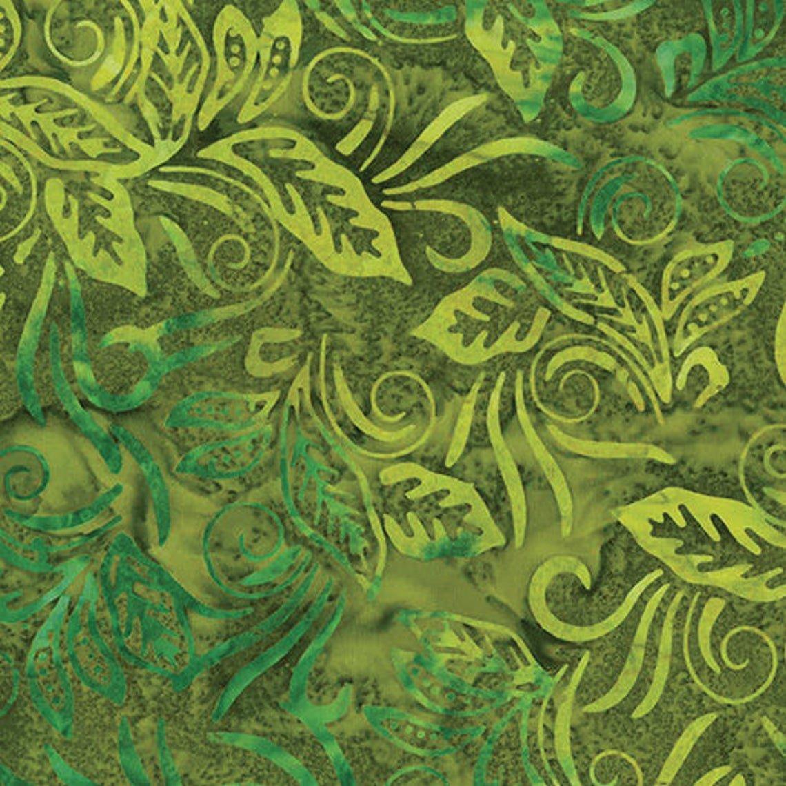 Benartex Banana Leaf Sage (Bail Tropical Escape) 09622 40
