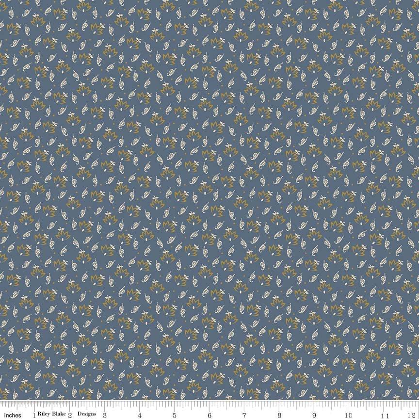 Penny Rose Fabrics Evandale C5274 Blue