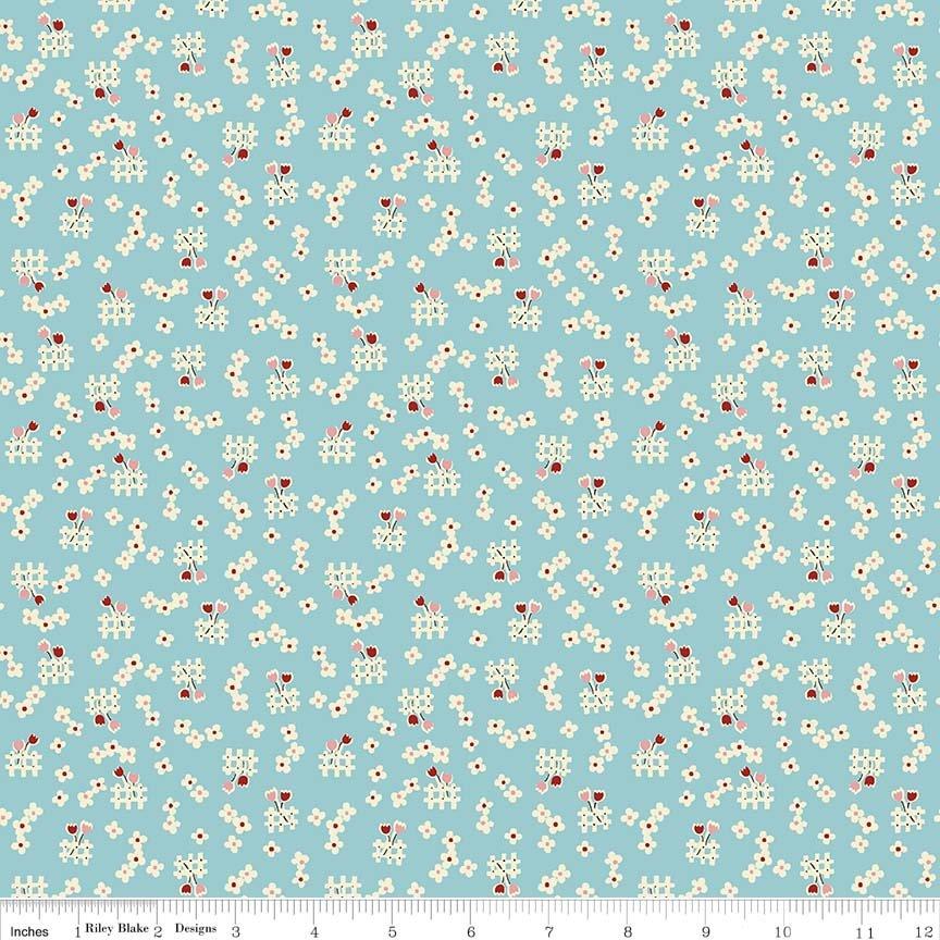 Penny Rose Fabrics Toy Chest 2 C5616 Aqua