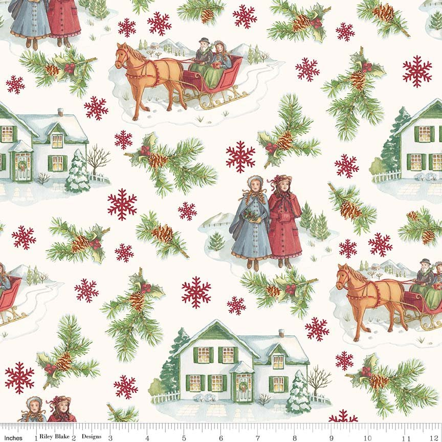 Penny Rose Anne of Green Gables Main Christmas Print C 6490