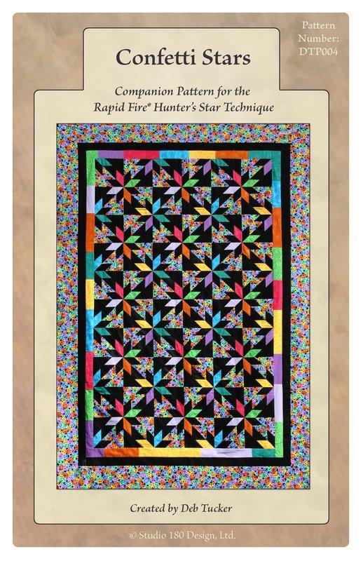 Confetti Stars by Deb Tucker Studio 180 Design