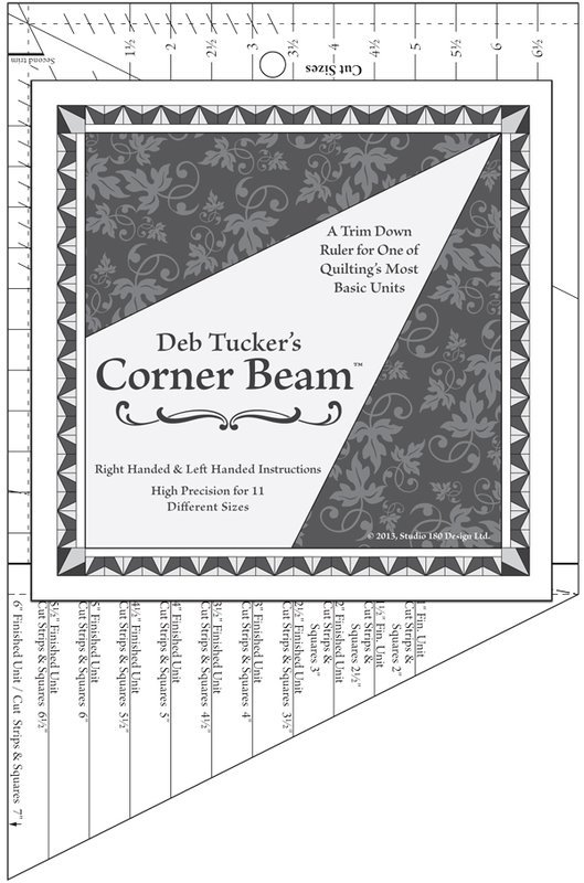 Corner Beam -  Deb Tucker's Studio 180 Design