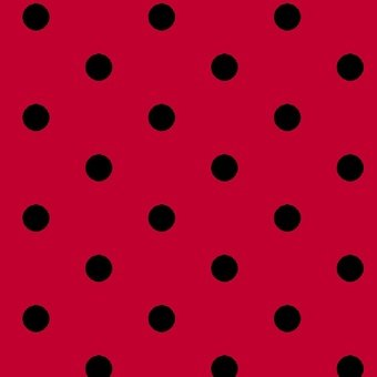 Blank Textiles Dotsy 8026 088 RED