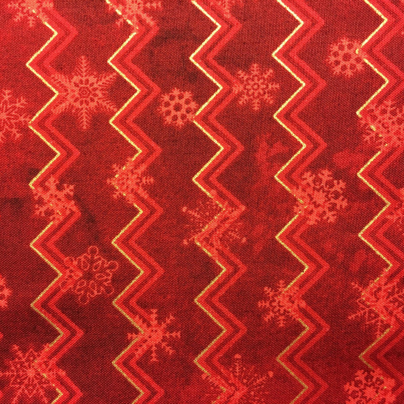 Northcott Reindeer Prance 20568M 25 red