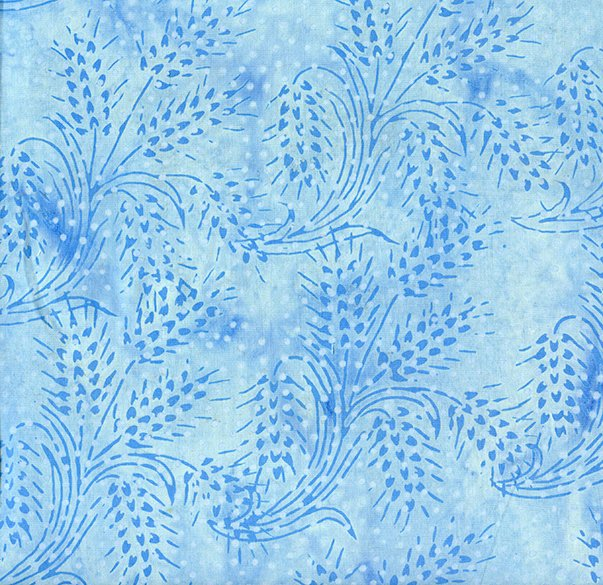 Island Batik Wheat-French Blue-Blue Moon
