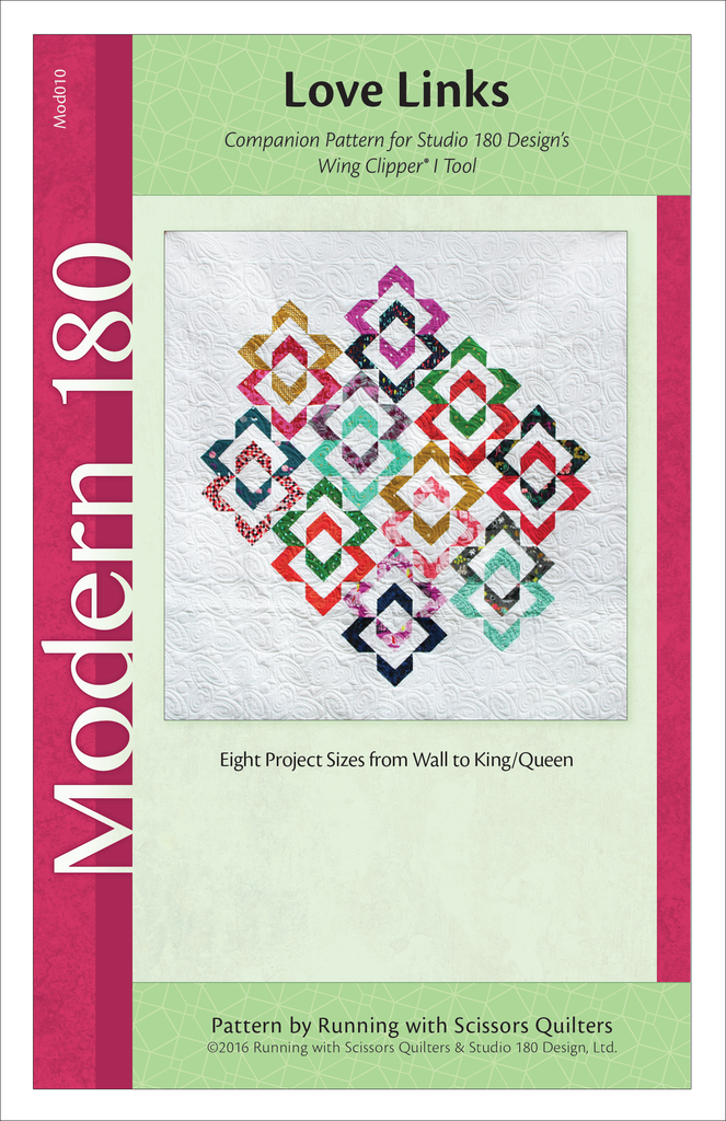 Love Links by Runnig with Scissors Quilters Modern 180 Studio 180 Designs