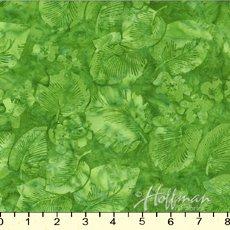 Hoffman P2932 178 Leaf Batik