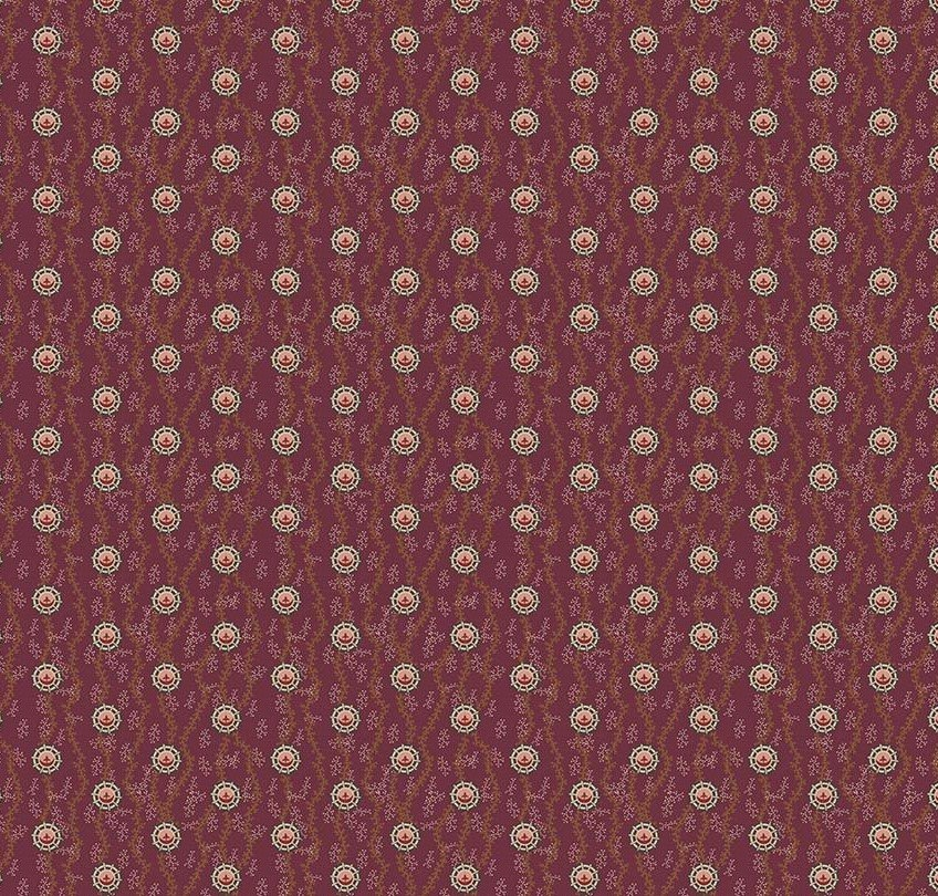 Penny Rose Fabrics Houghton Hall C5264 Red