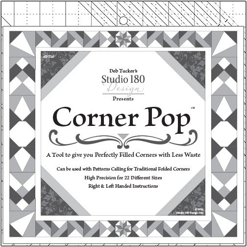 Corner Pop - Deb Tucker's Studio 180 Design